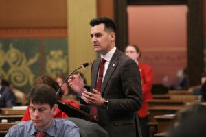 Lasinski, Camilleri, Introduce 'Michigan Jobs First' Package